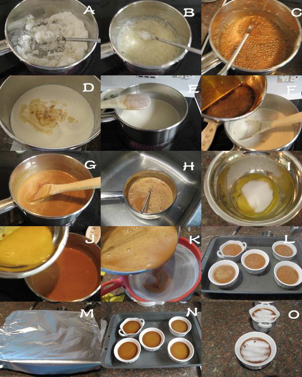 太妃焦糖布丁1 太妃焦糖布丁 Caramel Crème Brulée