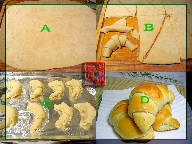 奶油椰香面包角2 奶油椰香面包角