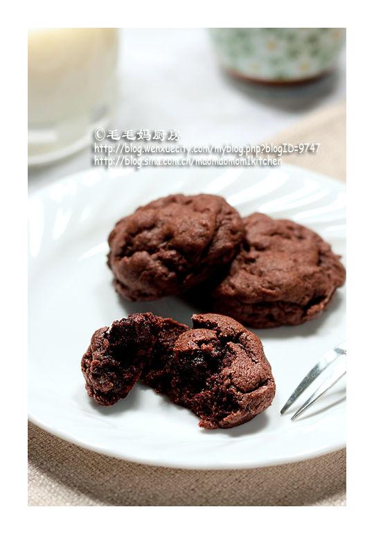 巧克力酥饼3 【巧克力酥饼】