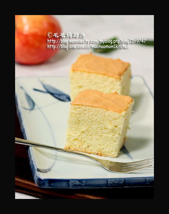 无油苹果戚风蛋糕1 【无油苹果戚风蛋糕】
