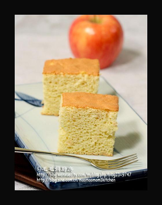 无油苹果戚风蛋糕3 【无油苹果戚风蛋糕】