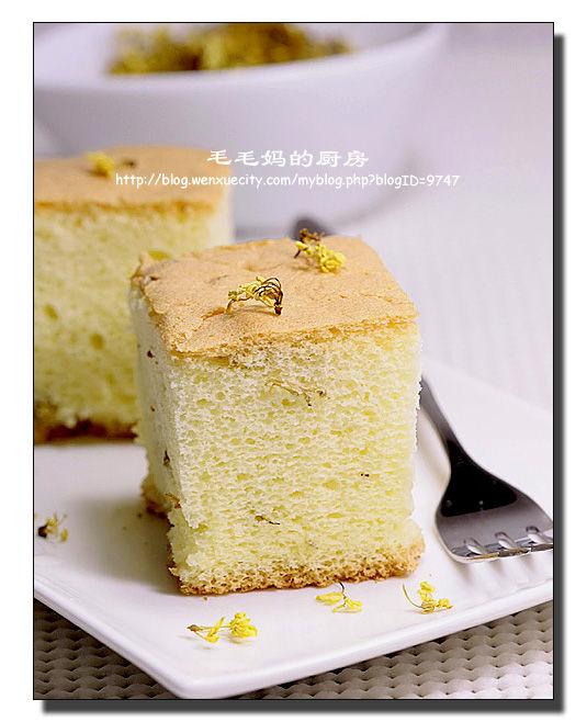 桂花蛋糕1 桂花蛋糕