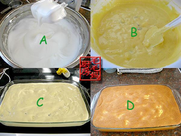 玉米面苹果戚风蛋糕2 玉米面苹果戚风蛋糕