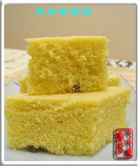 玉米面蛋糕发糕1 玉米面蛋糕/发糕