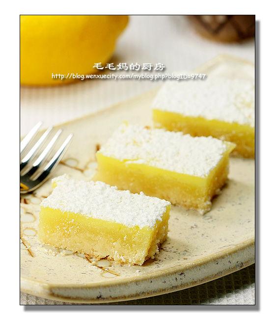 简单易做柠檬方糕1 简单易做柠檬方糕