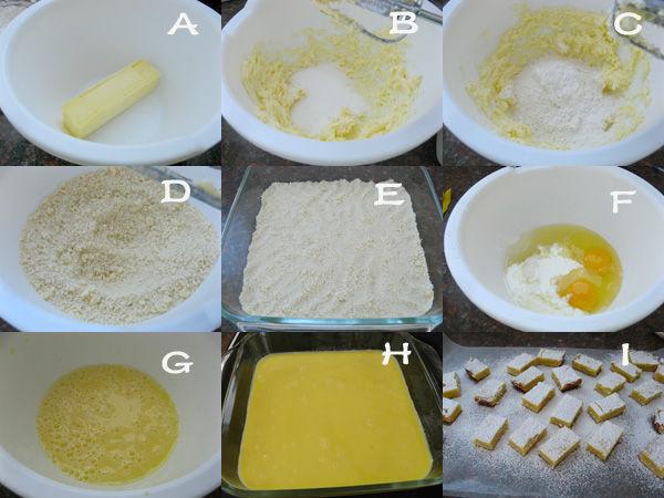 简单易做柠檬方糕2 简单易做柠檬方糕