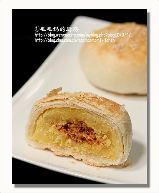 绿豆椪 台式酥皮月饼1 绿豆椪 台式酥皮月饼