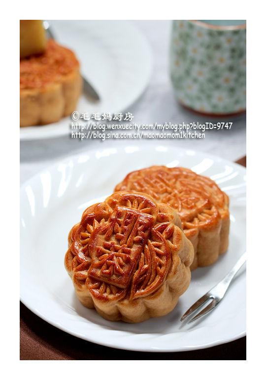 绿豆蓉馅广式月饼3 【绿豆蓉馅广式月饼】