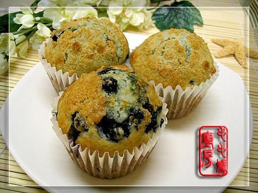 蓝莓玛芬2 蓝莓玛芬  Blueberry Muffins
