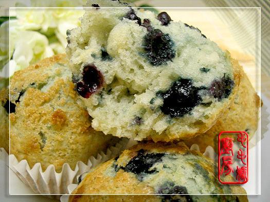 蓝莓玛芬3 蓝莓玛芬  Blueberry Muffins