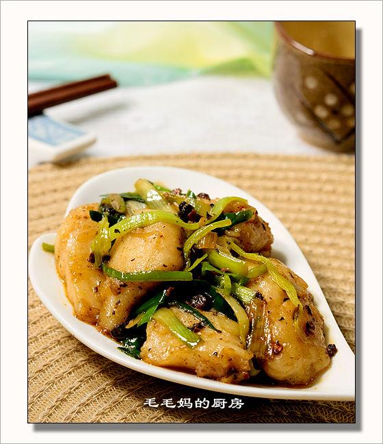 青蒜炒鱼片1 青蒜炒鱼片