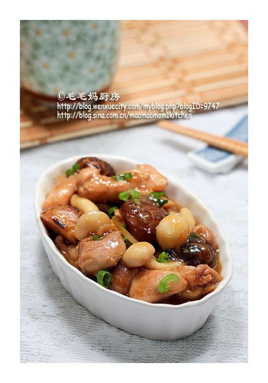 141 蚝油双菇鸡块