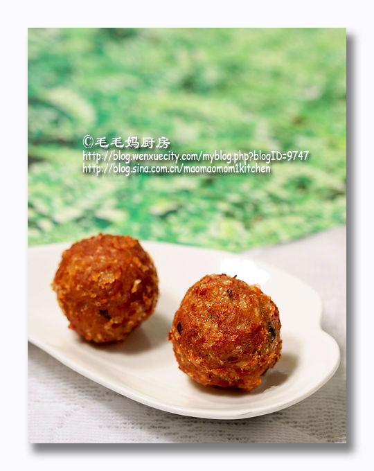 145 【香酥鸡肉丸子】