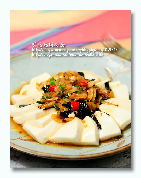 197 虾皮紫菜拌豆腐