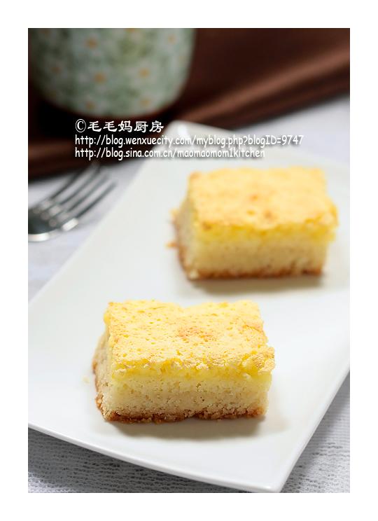lemonsquare 2 【柠檬方块酥糕】—我最喜欢的一个方子