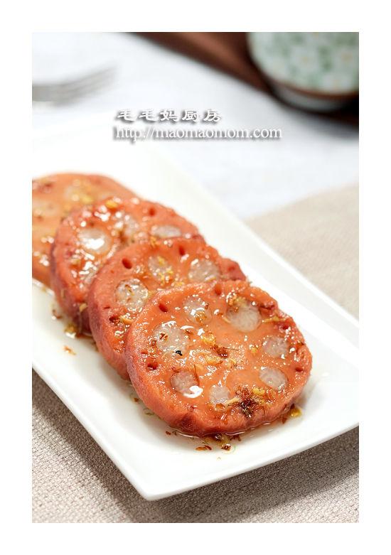 桂花糯米藕3 电压力锅菜肴