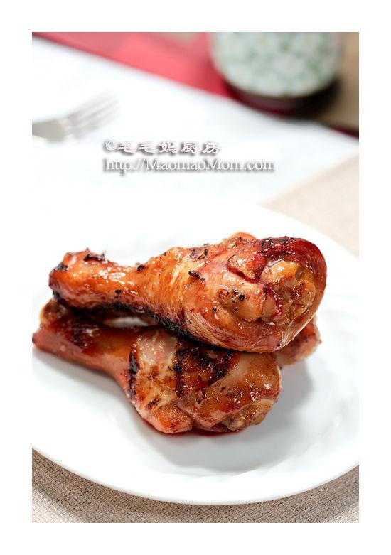 嫩烤鸡腿3 【嫩烤鸡腿 Sous vide +BBQ】 by 毛毛妈