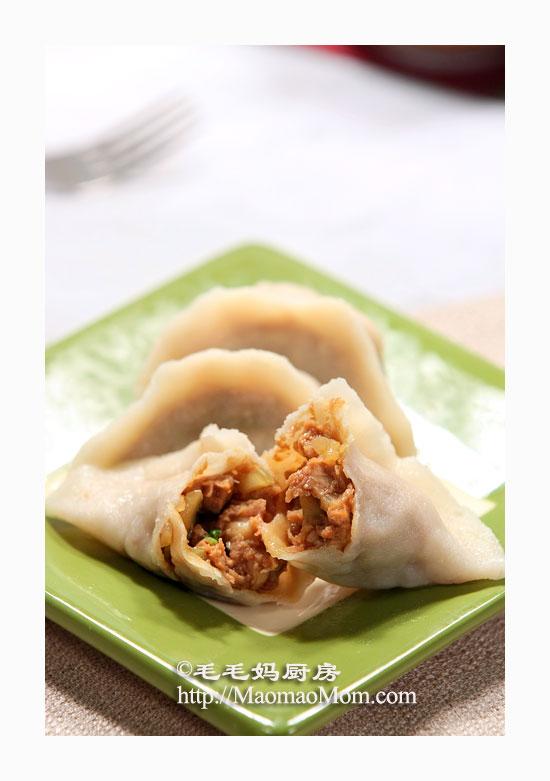 芹菜肉馅饺子3 【芹菜肉馅饺子】