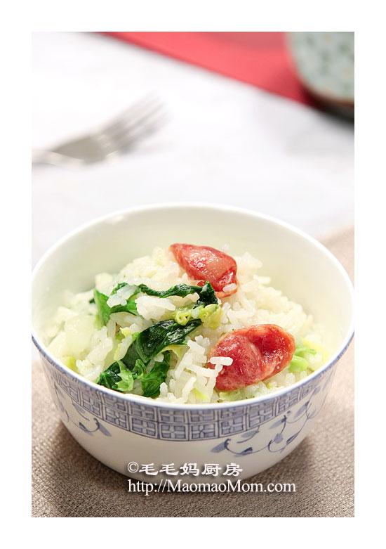 香肠菜饭2 电压力锅菜肴