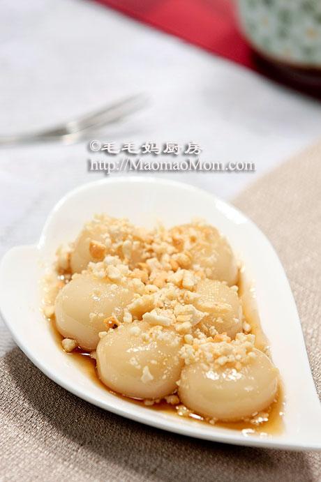 糖不甩pf2 【Purple Marble Tang Yuan   Glutinous Rice Balls】