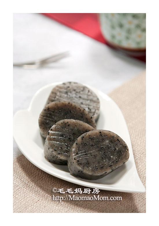 黑芝麻年糕F Chinese dessert