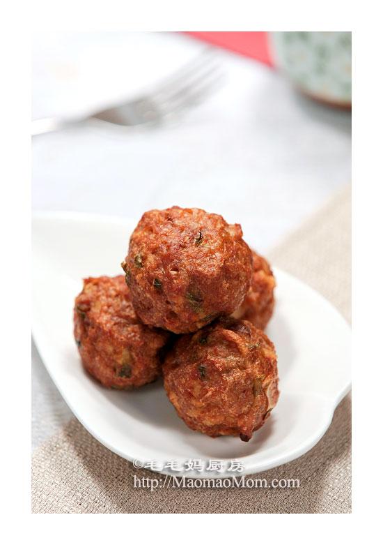 藕丸子F1 猪牛肉菜谱