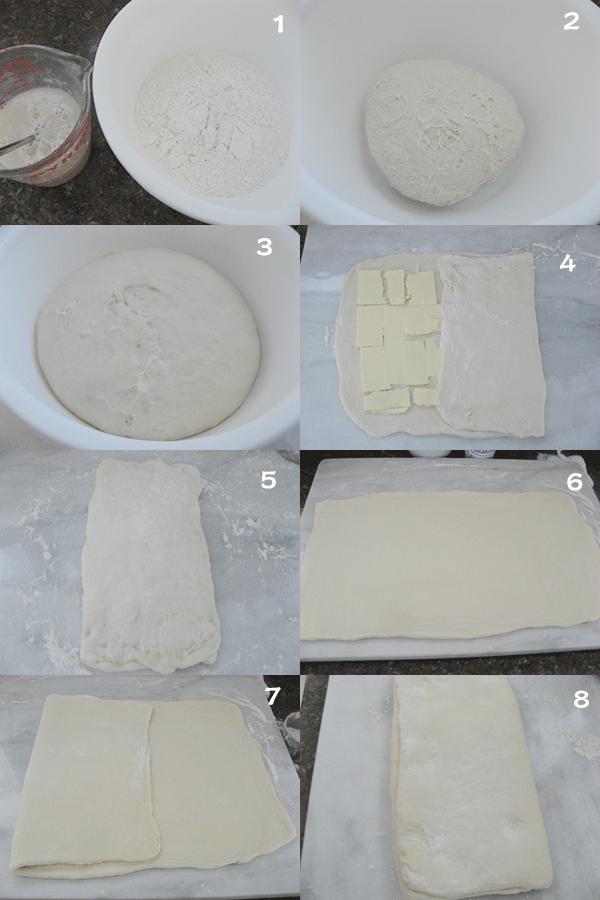 法式奶香牛角面包1 【Sweet French Croissants】