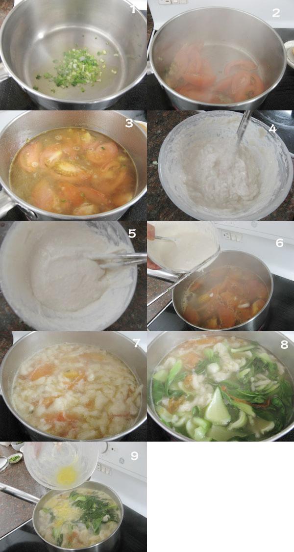 素面鱼汤1 【Mian Geda Soup】