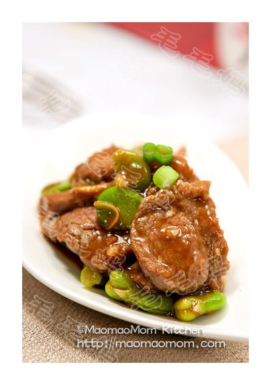牛肉炒蚕豆F1 Pork/Beef