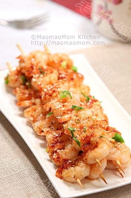 蒜蓉虾串F1 Seafood