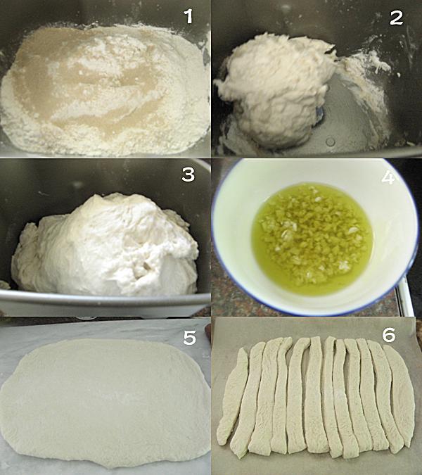 芝士面包条1 Garlic Cheese Breadsticks 芝士面包条