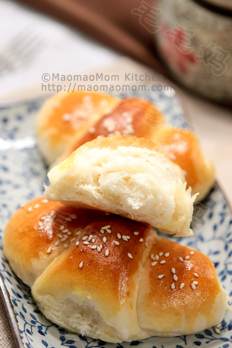 晚餐小面包final2 Very soft and easy to make【Dinner Rolls】 柔软易做【晚餐小面包】