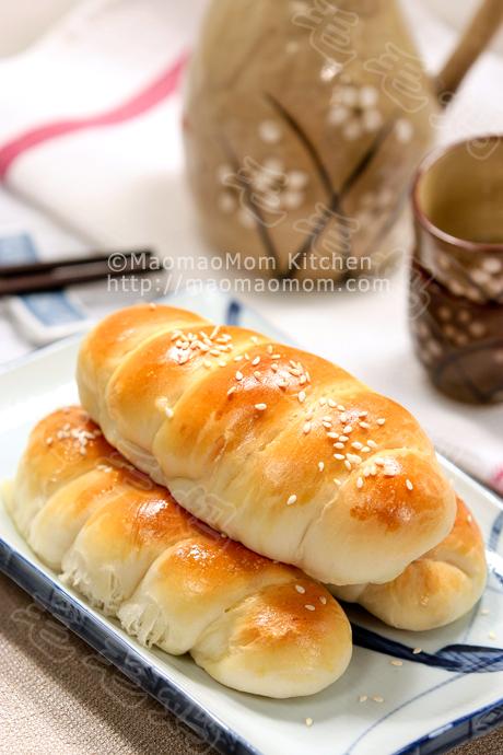芝士熏肉小面包卷final1 Ham and cheese bread rolls 芝士熏肉小面包卷