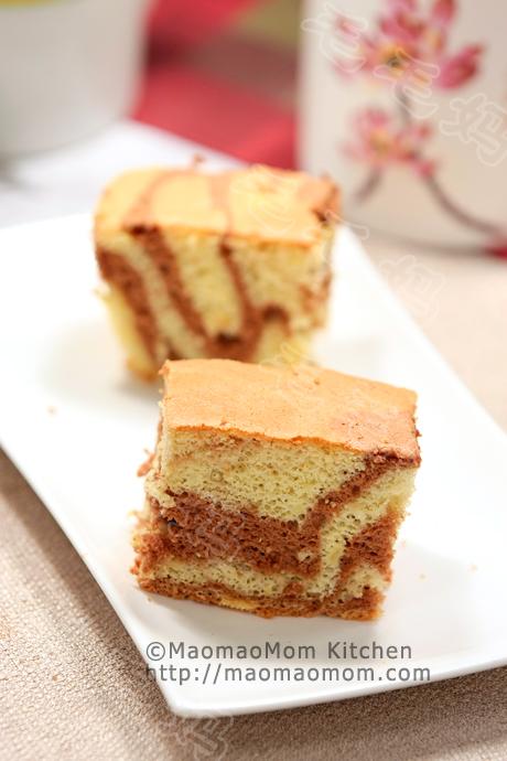 云石戚风蛋糕final 云石戚风蛋糕 Marble Chiffon Cake