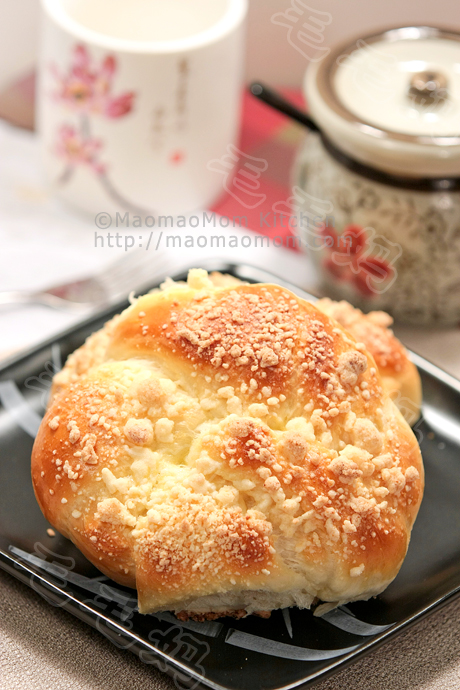 酥粒面包final1 Soft Rolls with Streusel Topping 酥粒面包
