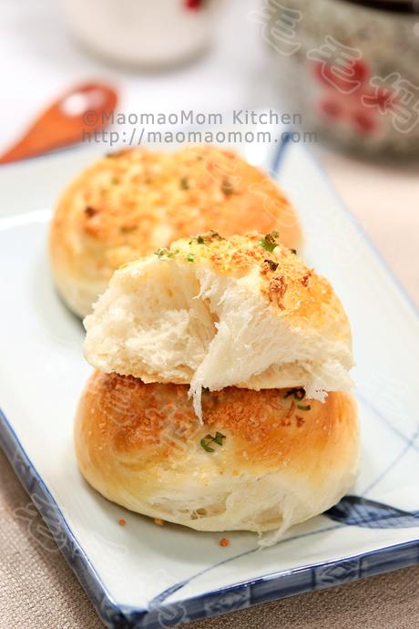 蒜蓉面包卷Garlic knots