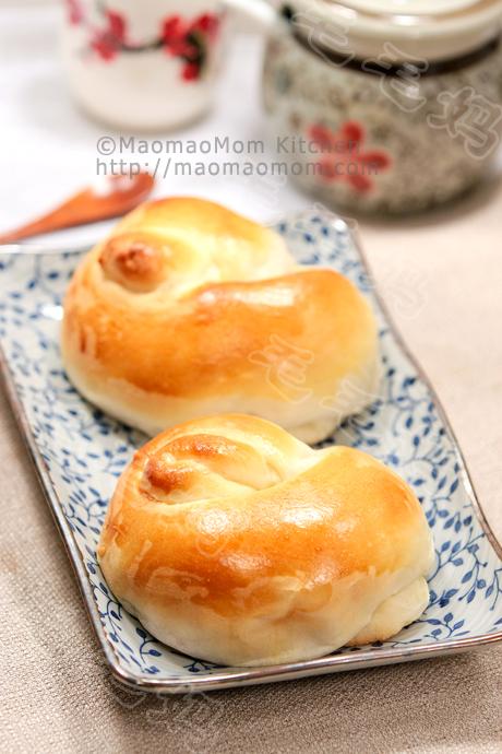 汤种芋蓉面包final2 Soft rolls with taro filling 汤种芋蓉面包