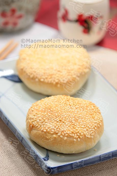 玫瑰黑芝麻馅烧饼final1 Appetizer