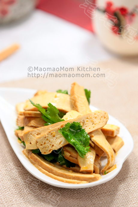 Braised Bean Curd (Firm Tofu) With Mushrooms Recipe — Dishmaps