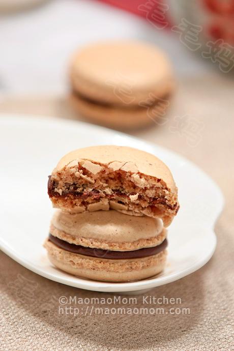 巧克力马卡龙final2 Dessert