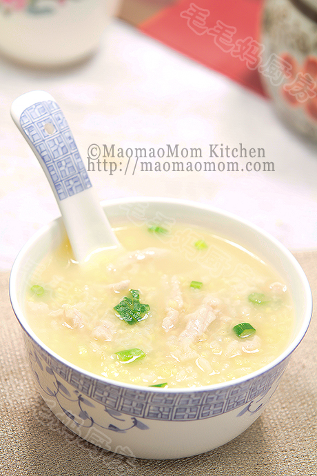 小米瘦肉粥final 养生壶菜谱