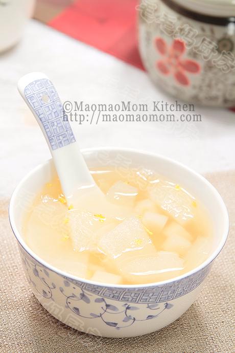 桂花芋头梨羹final TeaPot/Recipe