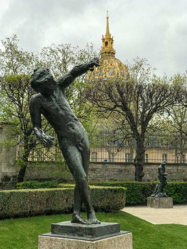 IMG 0918 巴黎的四月  罗丹博物馆,巴黎歌剧院