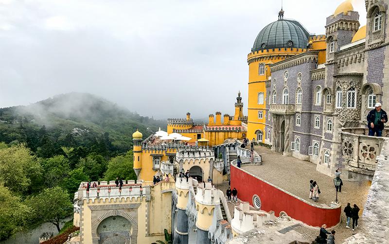 Panorama Sintra Trip to Lisbon (part 2)