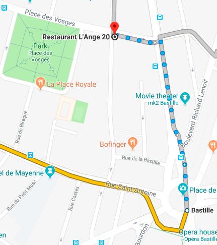 paris map1 巴黎的四月  罗丹博物馆,巴黎歌剧院