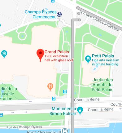 paris map3 巴黎的四月  罗丹博物馆,巴黎歌剧院
