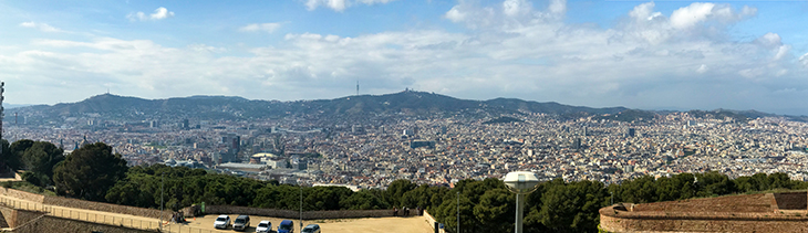Panorama Three Days in Barcelona (part 2)