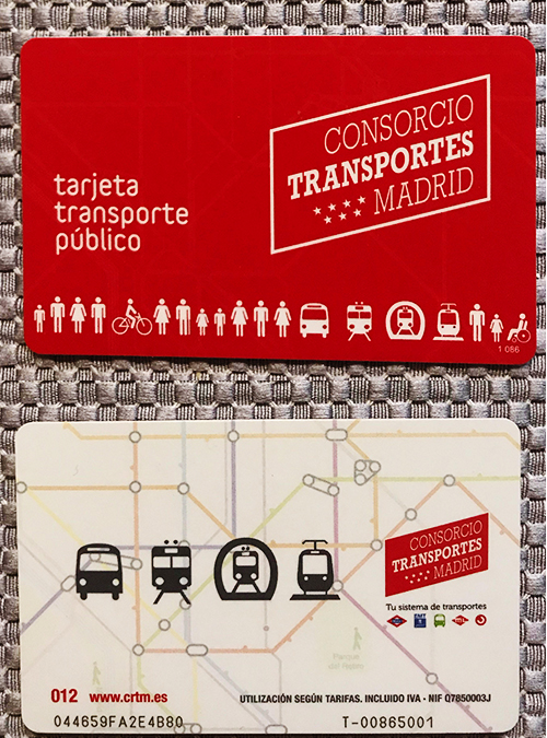 madrid card Madrid Spain (Toledo and Segovia)