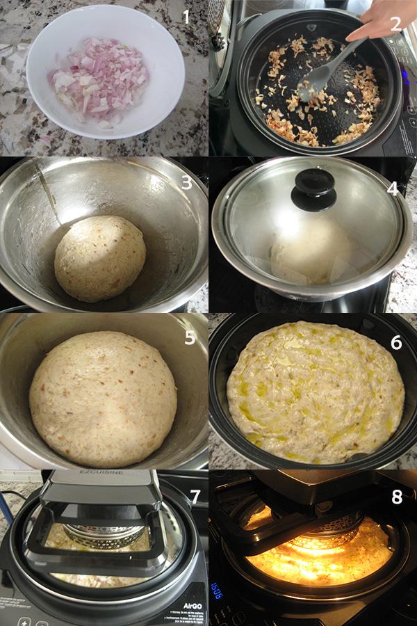 红葱头饼1 AirGo之红葱头烤饼Shallot flat bread